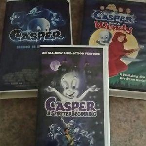 Casper Vhs lot